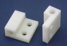 Milling, Drilling & Tapping of a Nylon Roller Adjustment Block